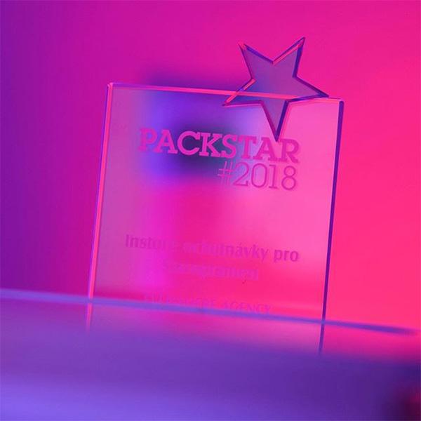 Vítěz soutěže Packstar kategorie POS