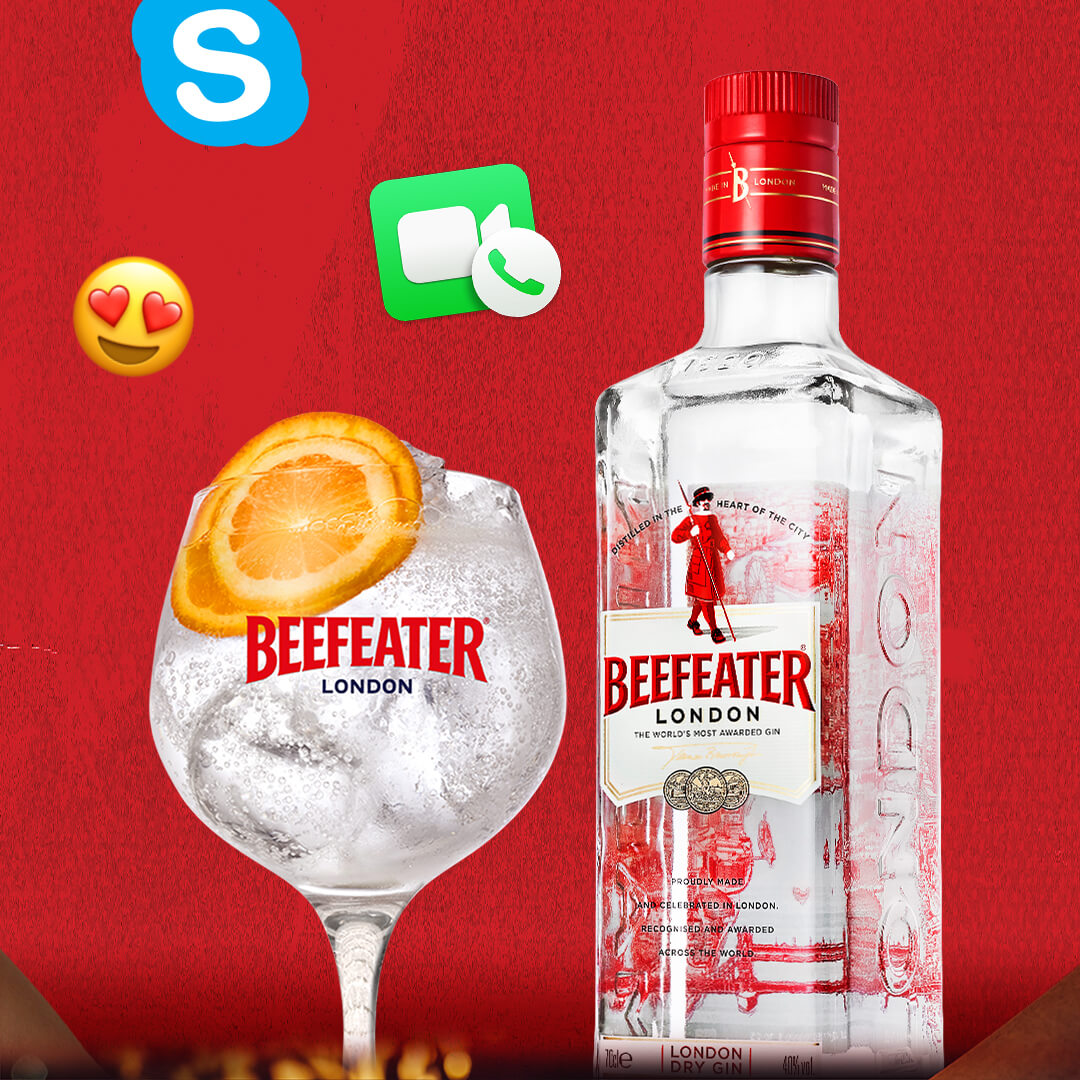 Beefeater online party